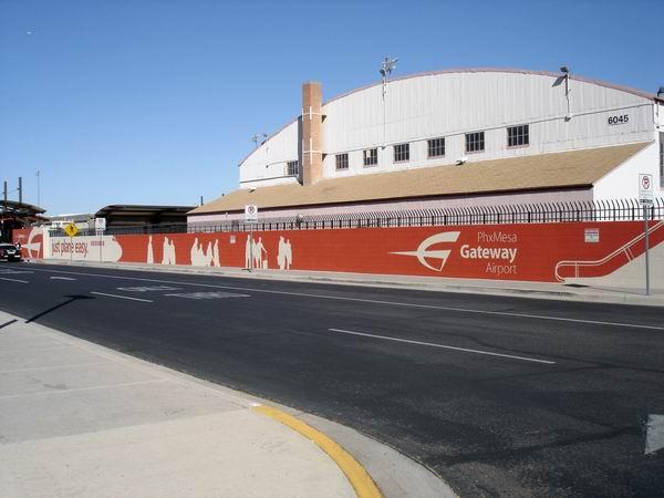 Gateway Airport Terminal Wall Mural 5