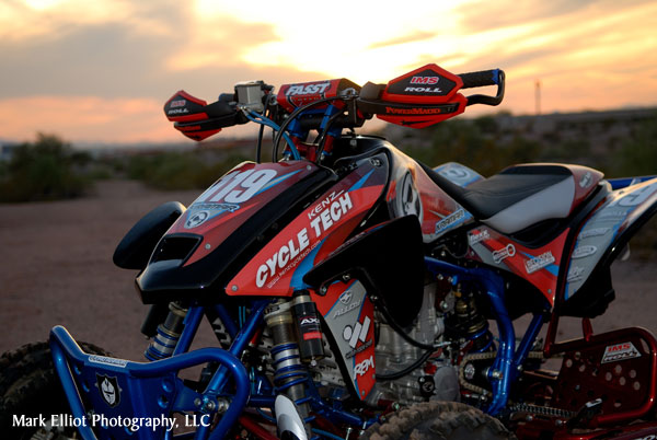 Kramar Motocross Graphics Installed Zoom